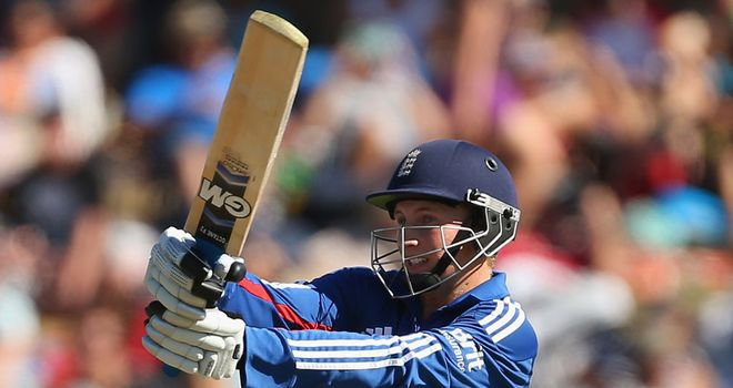 Root: Despite his best efforts, England fell short of ideal total