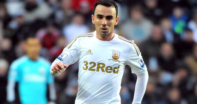 Leon Britton: Hoping to see out his playing days at the Liberty Stadium