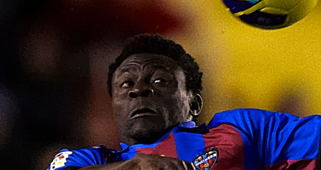 Obafemi Martins: Scored for Levante in Europa League clash