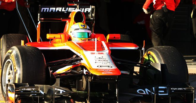 Luiz Razia: Debut as an F1 race driver followed hot on the heels of Marussia's announcement