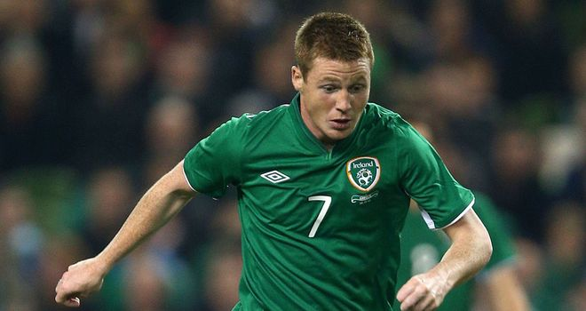 James McCarthy: Looking for Republic of Ireland to get back to winning ways