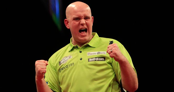 Michael Van Gerwen: Doubles up with matches against Phil Taylor and James Wade