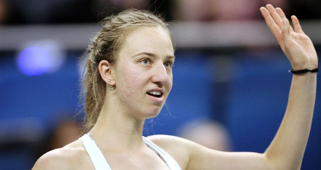 Mona Barthel: Recorded a straight sets victory over Sara Errani in Paris