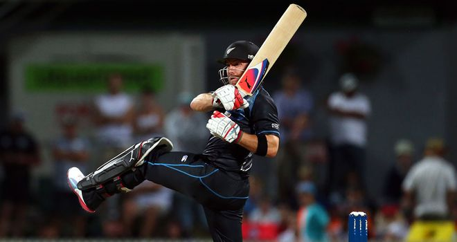 Brendan McCullum: Captain's innings for New Zealand