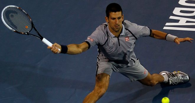Novak Djokovic: Safely through to last four in Dubai