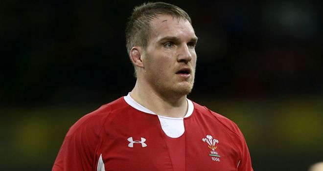 Gethin Jenkins on international duty with Wales