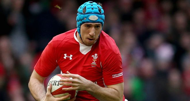 Justin Tipuric picked up the man of the match award in Wales' win over England