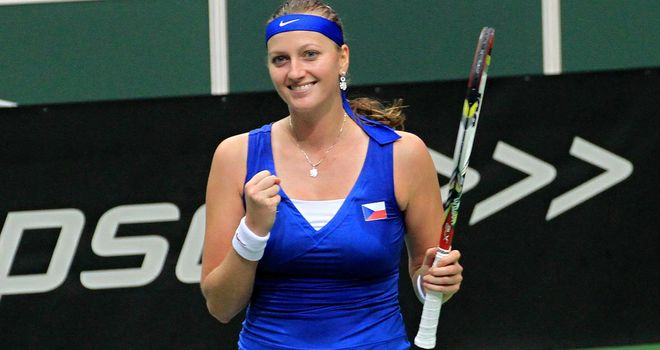 Petra Kvitova beats Sam Stosur from match point down in Fed Cup