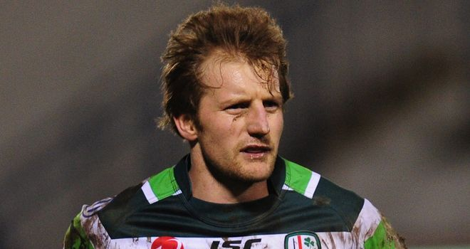 Patrick Phibbs has done well since joining London Irish.