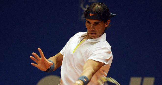 Rafael Nadal: Continuing his comeback from injury