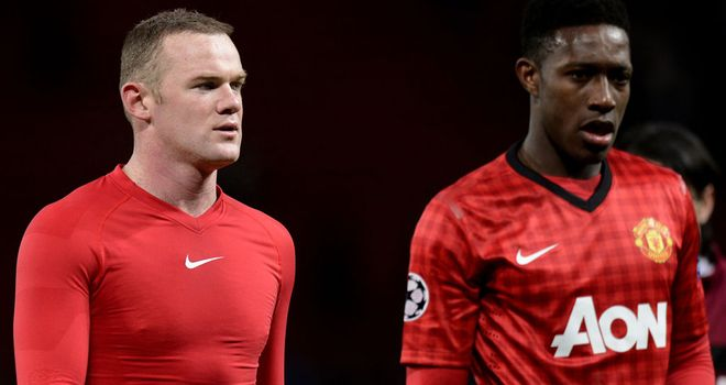 Danny Welbeck: Backed by Manchester United team-mate Wayne Rooney