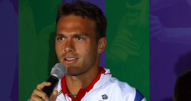 Ross Hutchins: Currently having treatment at the Royal Marsden hospital