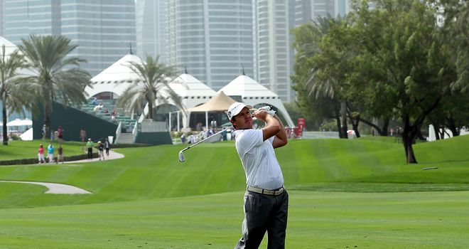 Richard Sterne: Remains in front in Dubai