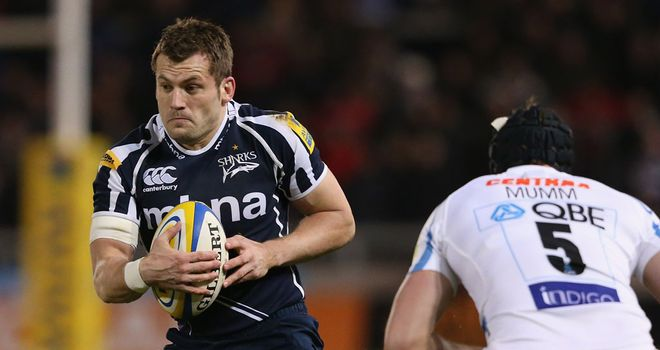 Mark Cueto: was capped 55 times by England, scoring 20 tries