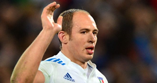 Sergio Parisse: Will lock horns with the Lions in Hong Kong.