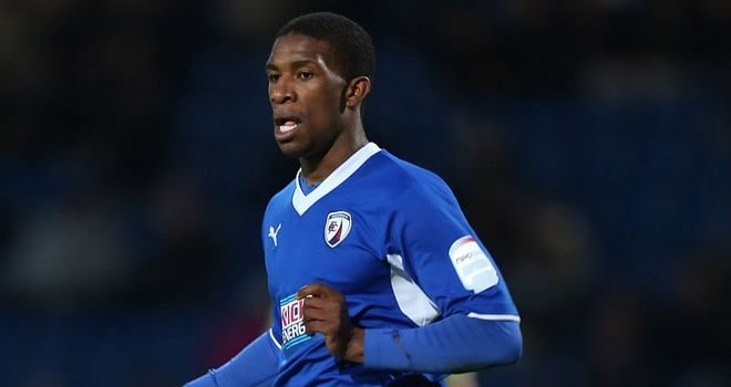 Tendayi Darikwa: Ruled out for Spireites