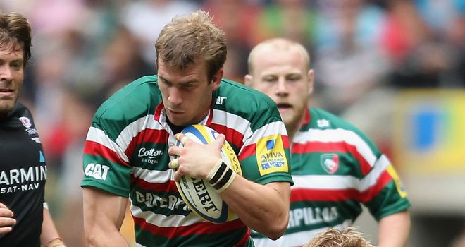 Tom Croft: Back in England squad after serious neck injury