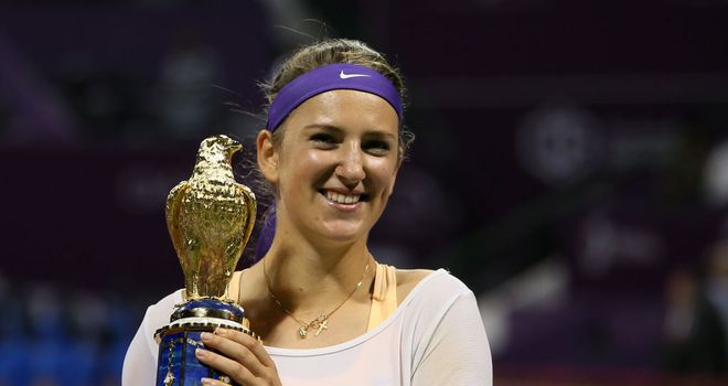 Victoria Azarenka: Successfully defended her title in Qatar