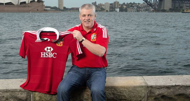 Warren Gatland: Lions coach for tour of Australia