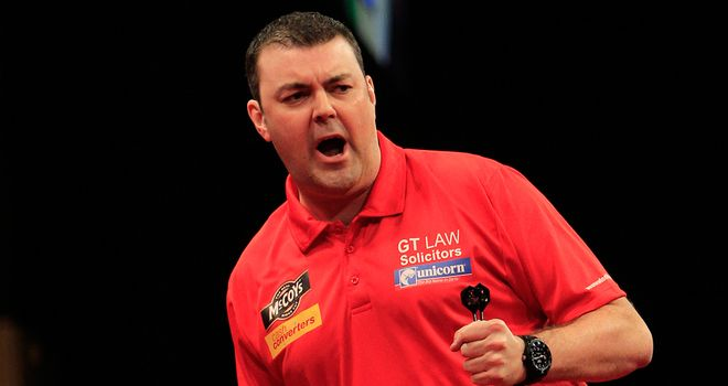 Wes Newton: Kept survival hopes alive with victory over Gary Anderson