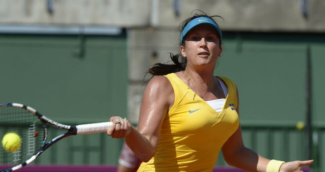 Sofia Arvidsson: will next face Marina Erakovic, who she defeated in last year&#39;s final in Memphis