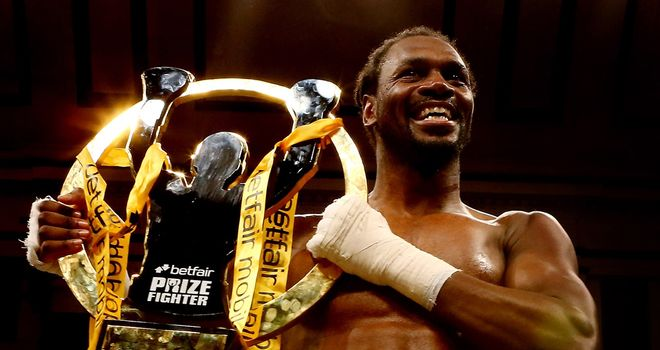 Audley Harrison: Hopes to return to the ring in April
