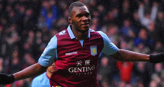 Christian Benteke set Aston Villa on their way to victory over West Ham