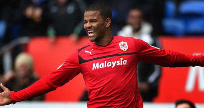 Fraizer Campbell: Two goals in Cardiff&#39;s 2-1 victory over Bristol City