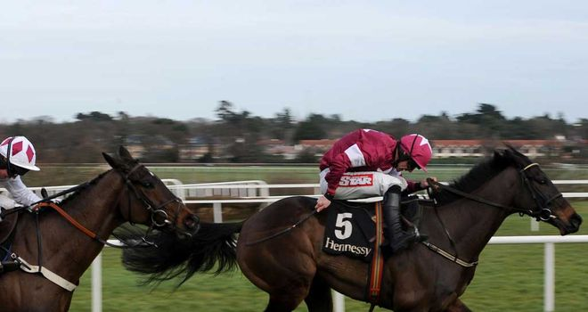 Sir Des Champs: Back to winning ways in the Irish Hennessy