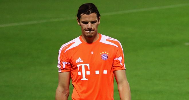 Daniel van Buyten: Wants to carry on playing at Bayern Munich