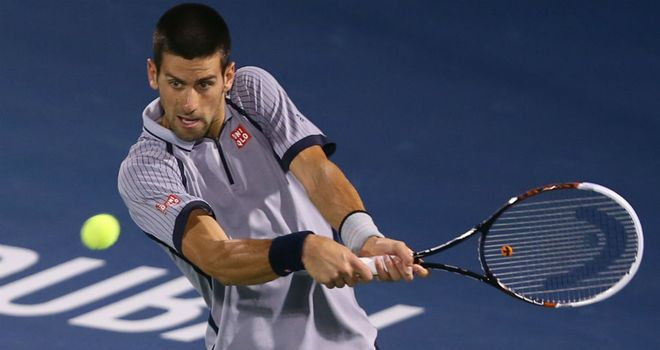 Novak Djokovic: was making his return to action after winning the first slam of the season