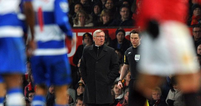 Sir Alex Ferguson: Satisfied with the win over Reading