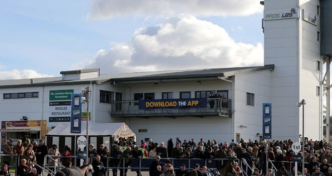 Ffos Las: Racegoers raised the cash for McNamara