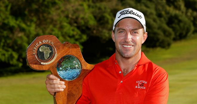 Darren Fichardt: Held on to win by two shots at East London Golf Club