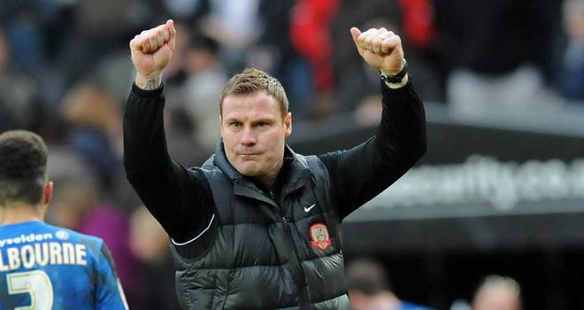 David Flitcroft: Barnsley manager looking forward to Manchester City trip