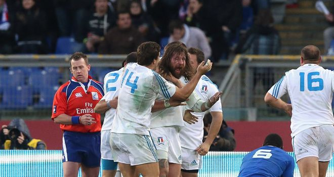 Martin Castrogiovanni: Will win his 94th cap in Rome