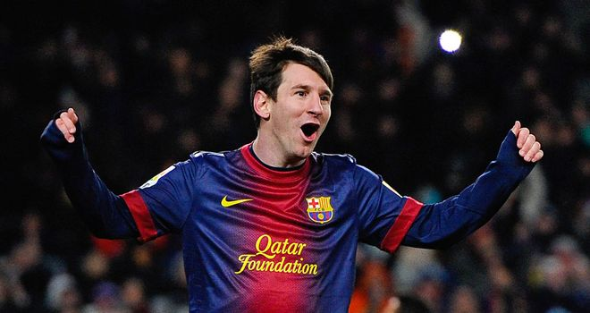 Lionel Messi: On target