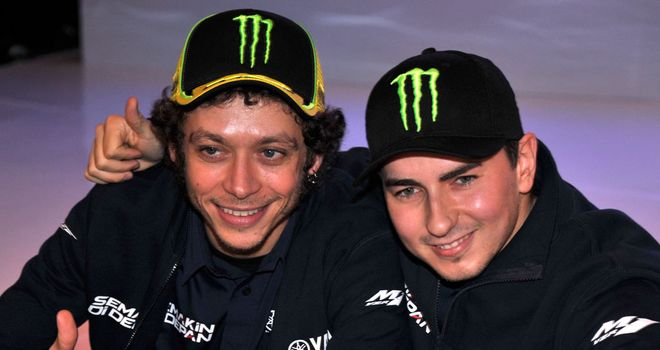 Valentino Rossi and Jorge Lorenzo: Best of friends