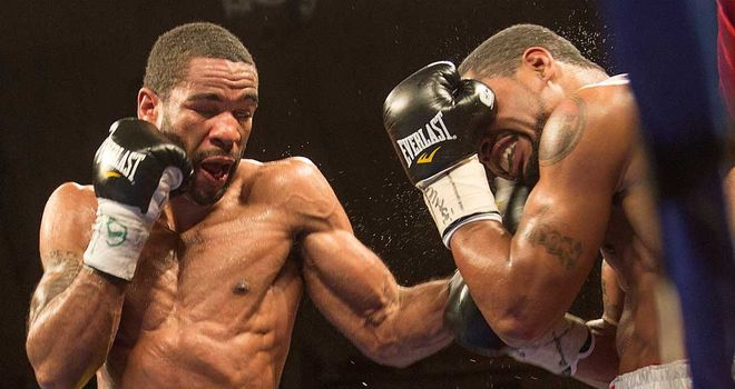 Lamont Peterson: Eighth round win on return to the ring