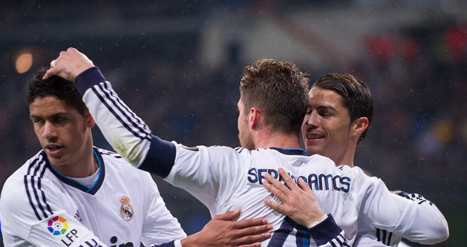 Sergio Ramos: Congratulated after scoring