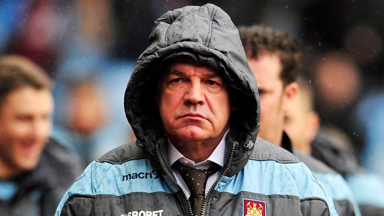 Sam Allardyce: West Ham contract up in the summer