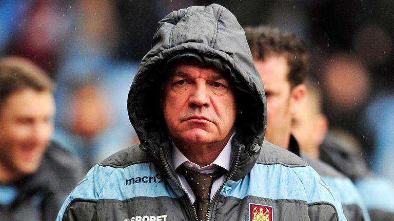 Sam Allardyce: West Ham contract up in the summer