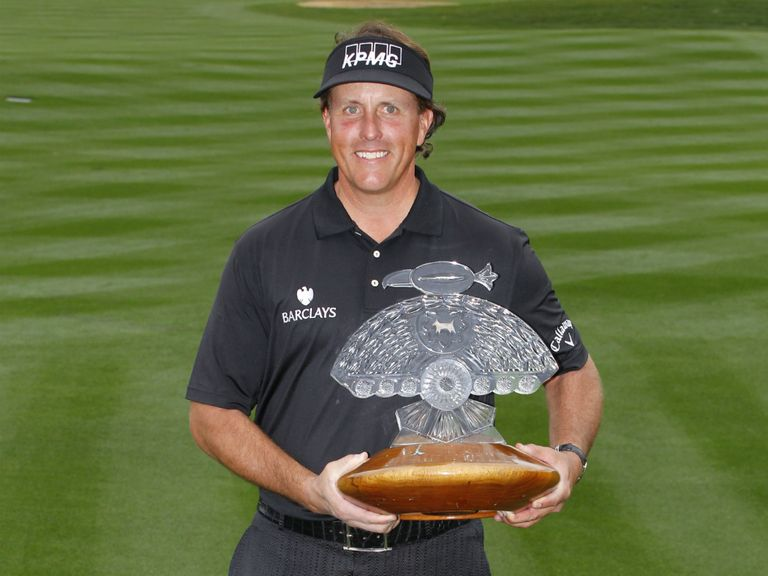 Mickelson: Looks the one to beat in the Masters