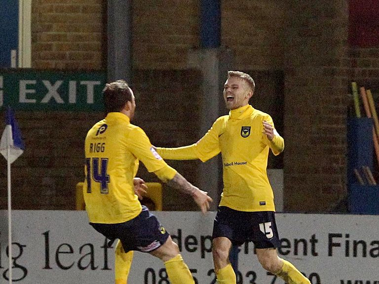 Alfie Potter: Scored a late winner for Oxford