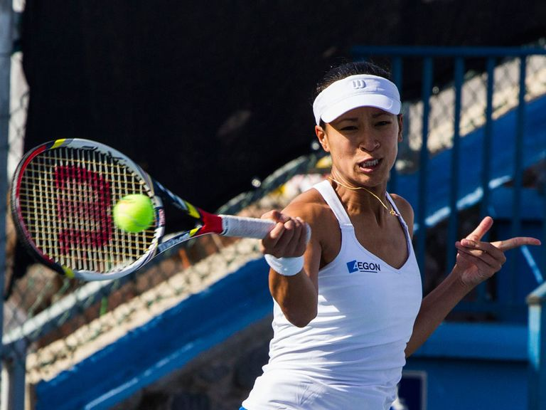 Anne Keothavong: Lost in round one
