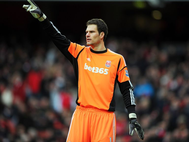 Asmir Begovic: Is happy to stay at Stoke for now