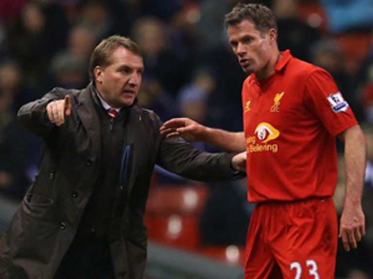 Rodgers: Could ask Carragher to continue playing