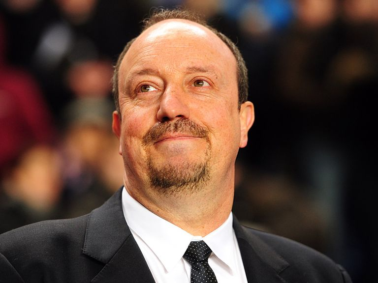 Benitez: Confident his side can triumph at the Etihad Stadium