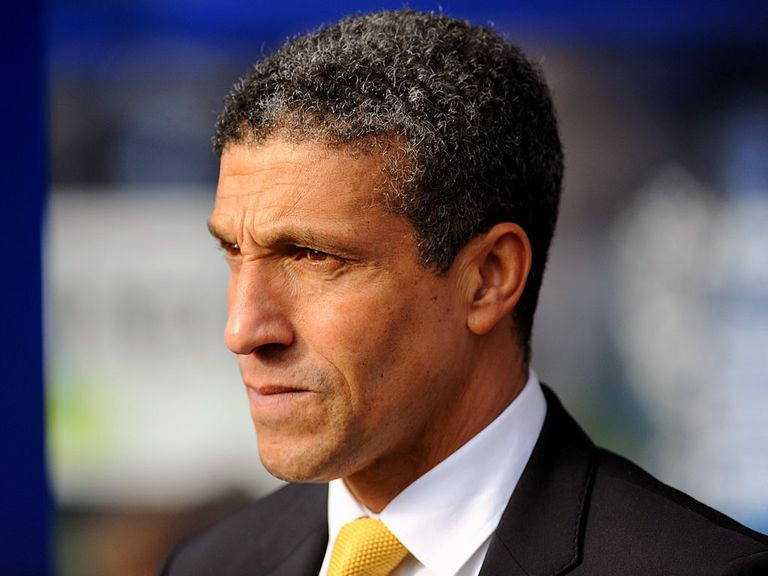 Chris Hughton: Feels Norwich are on the up