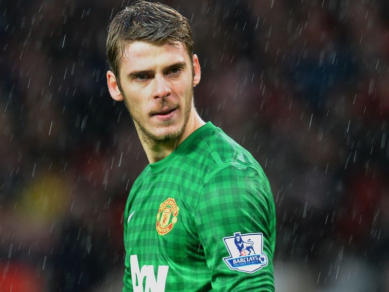 David De Gea: Support from Sir Alex Ferguson